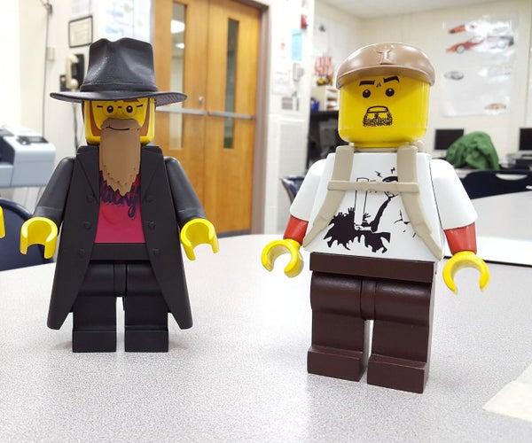 3d Printed Ultimate Lego Figure