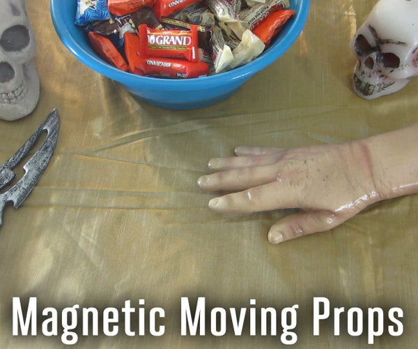 Automatic Moving Halloween Props
