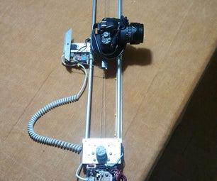 DIY motorized moving timelapse camera dolly with Arduino