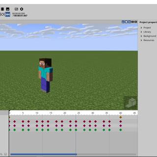 Minecraft Animation Maker - First Animation