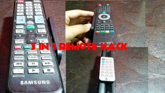 TV Remote Hack!(Never Lose Your Remote!)
