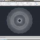Fibonacci Sequence AutoCad