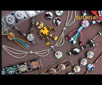 WIKarts: Create Jewelry With Wire and Pinback Buttons
