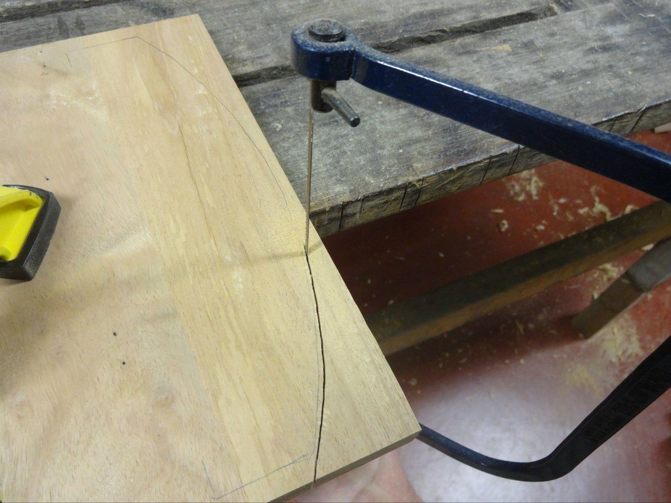 Making Sides for the Curved Lid