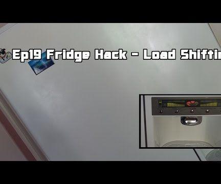 Fridge Hack -  Load Shifting