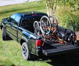 Simple Way to Secure Bikes in a Truck Bed