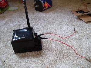 R/C car remote detonator