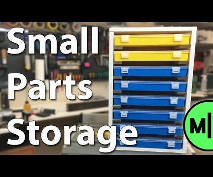 Make a Small Parts Organizer!