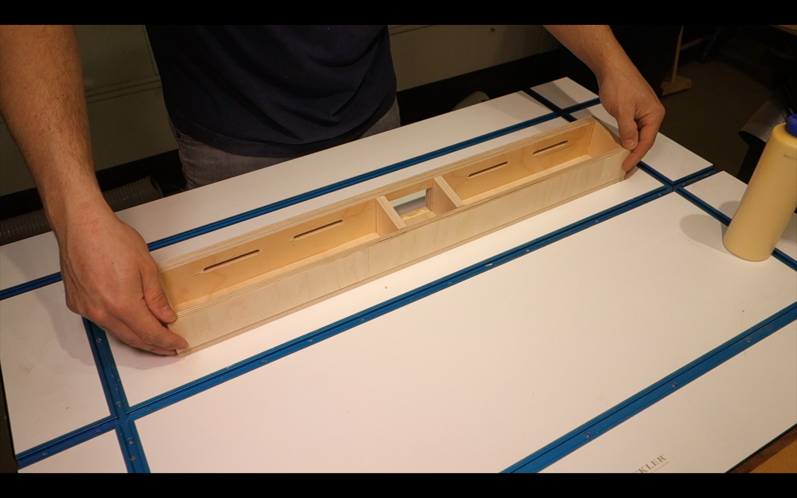Cutting the Angled Supports