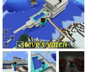 Minecraft- Steve's Yatch