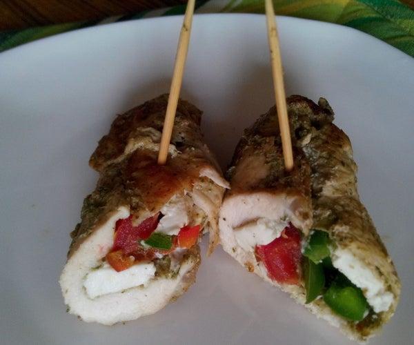 Diet Stuffed Chicken ( Single Serving)