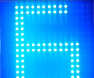 Wifi Controlled LED Display