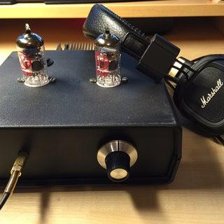 Headphone Hybrid Tube Amp (SSMH)
