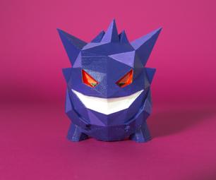 DIY 3D Printed Gengar Pokemon