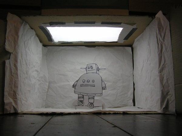 Self-Illuminating Photography Lightbox