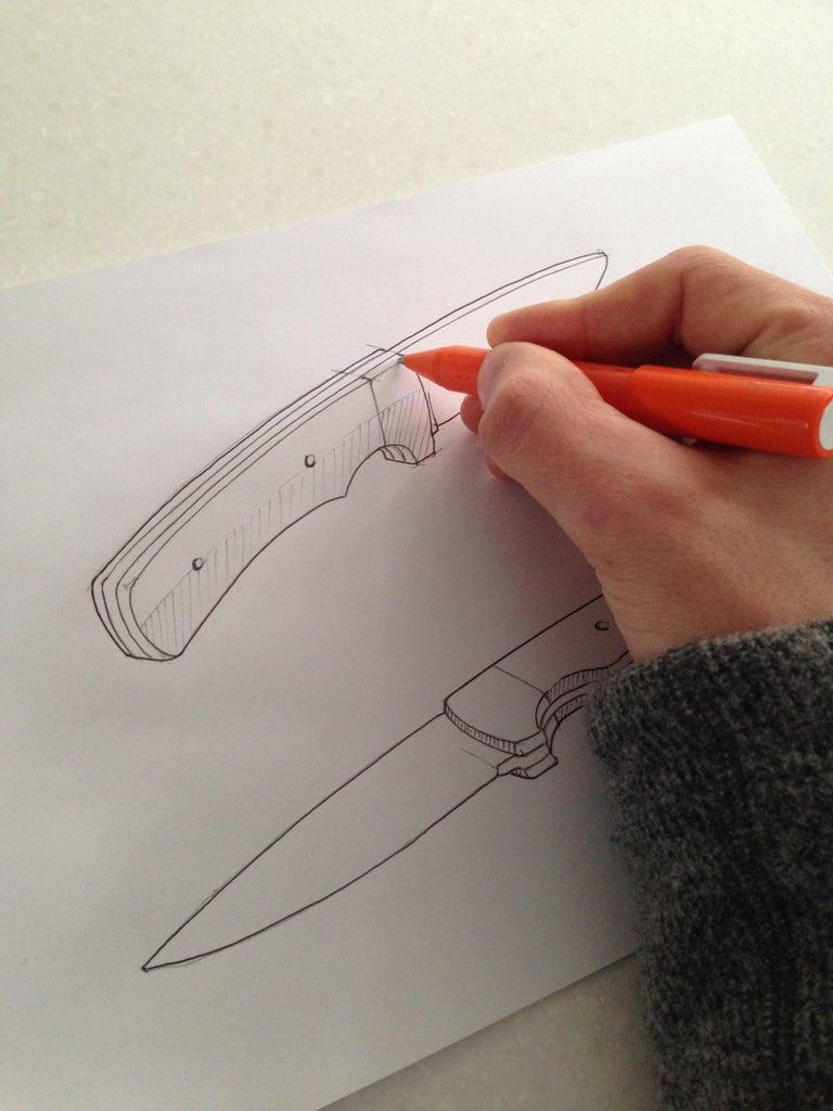 Design the Knife (sketching)