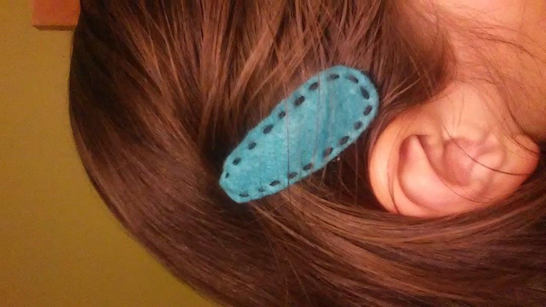 Felt Hair Barrette
