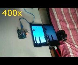 Arduino Plays Stick Hero