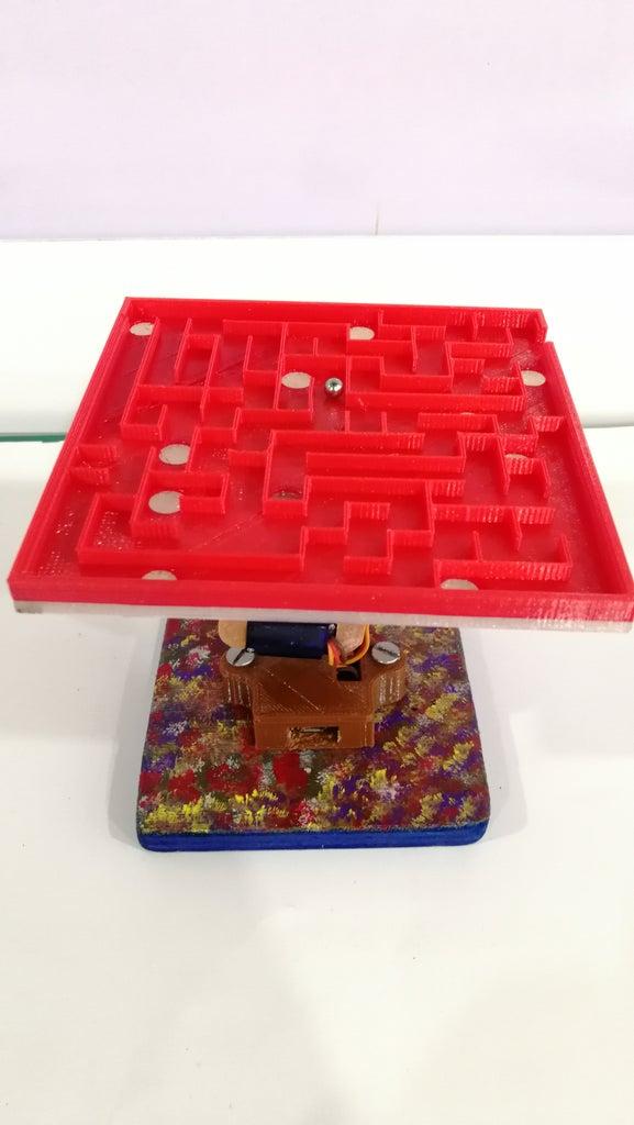 Gesture Controlled Maze
