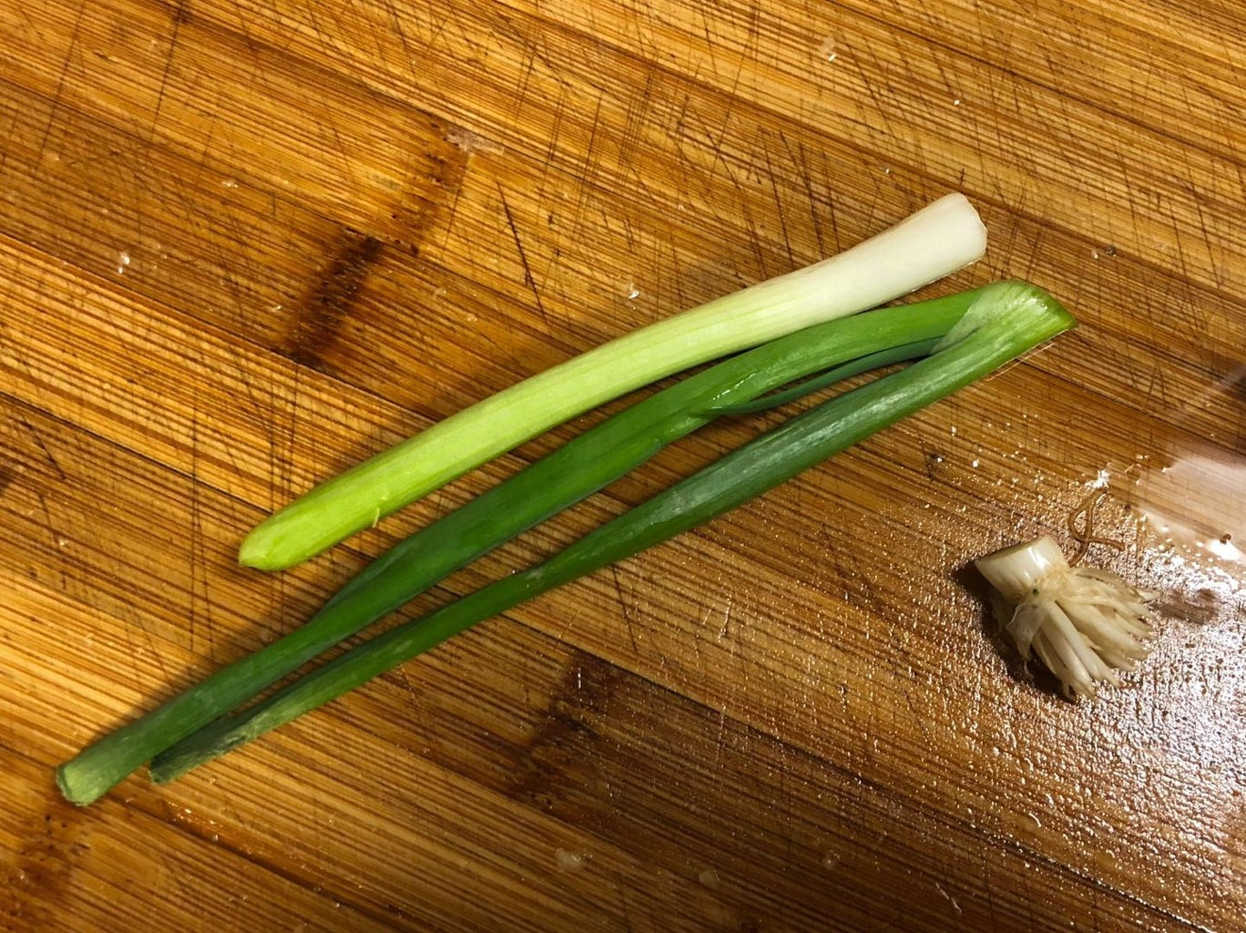Add More Flavor - Grind Green Onion and Ginger