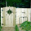 Privacy Fence Sun Gate