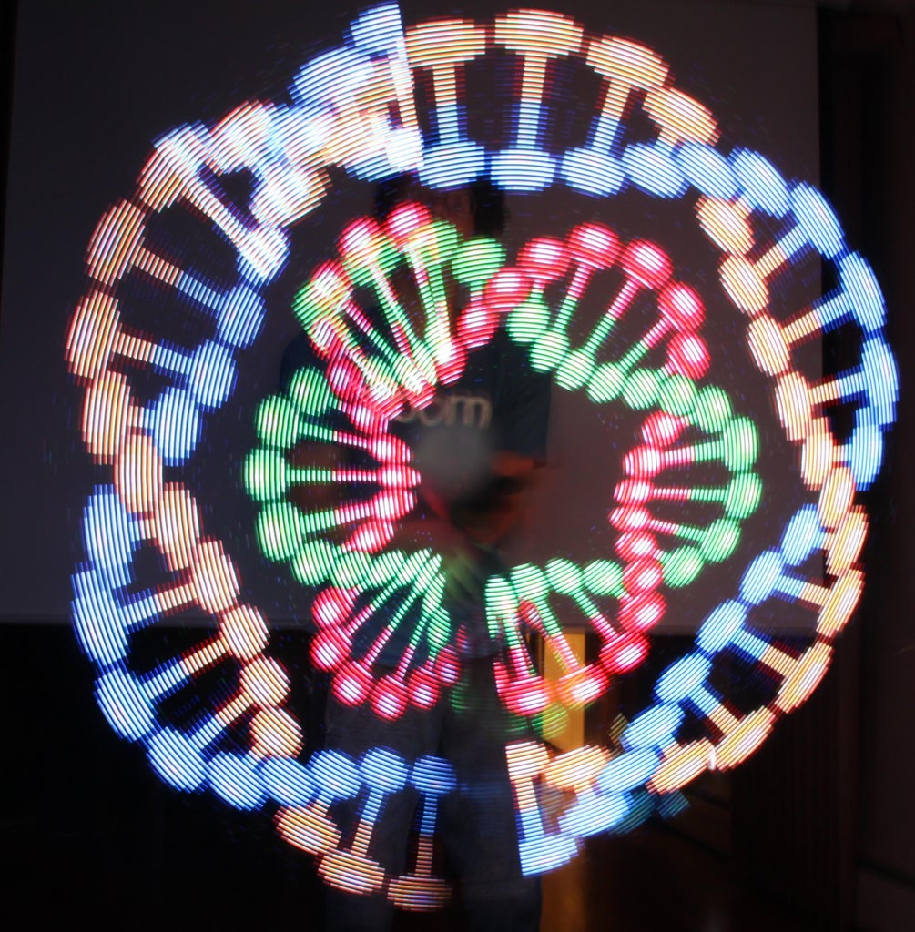 Persistence of Vision LED Staff