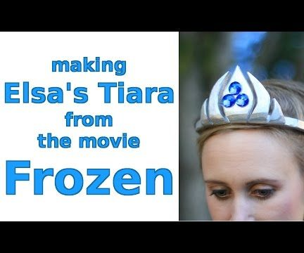 Making Elsa's Tiara from the Movie Frozen