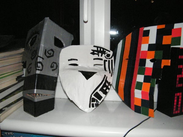 Duct Tape Masks