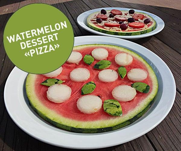 "Watermelon Dessert ""Pizza"""