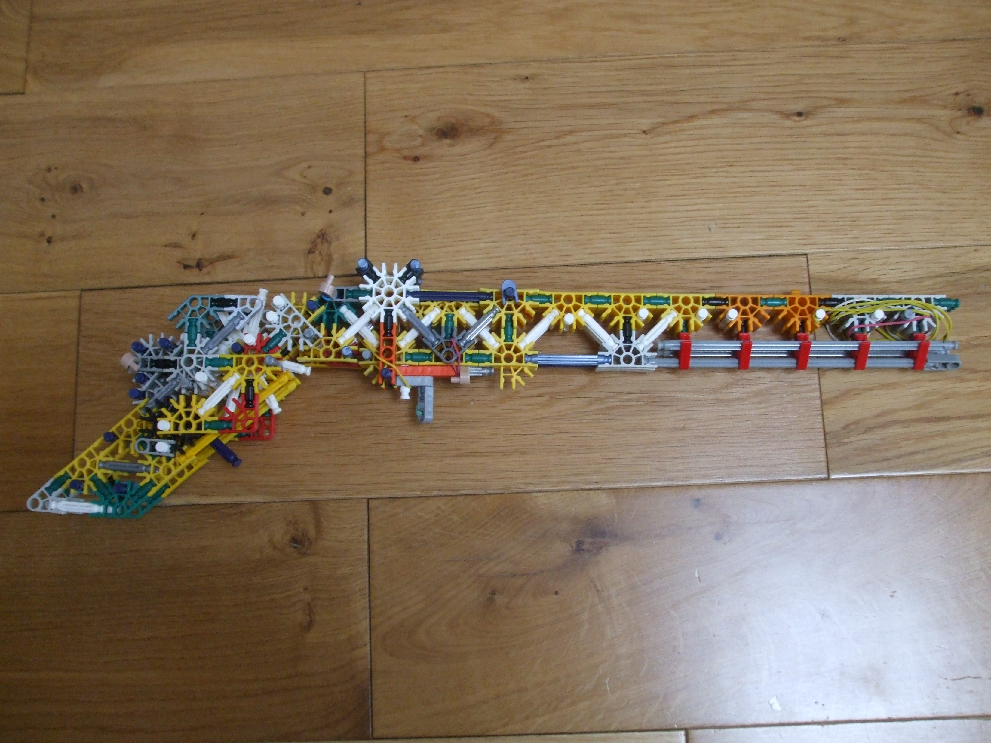 Knex powerful shotgun-shoots 40ft