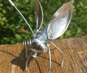 Recycled Metal Bug
