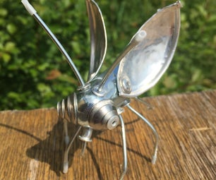 Recycled Metal Bug
