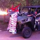 Fire Breathing Dragon - Halloween Prop