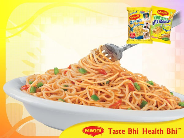 Making Indian Masala Noodles
