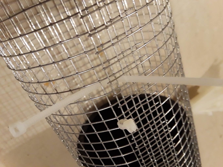 Straight Through Design: Create the Wire Mesh Tube