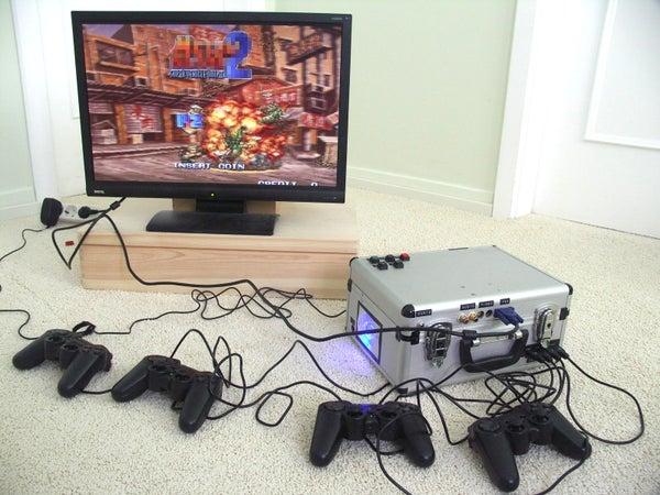 Portable Emulator Console: ArcadeBox