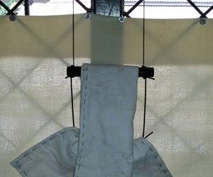 Simple Little Napkin Hanger- From Junk!