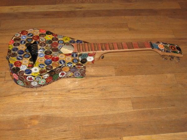 Bottlecap Guitar Mod