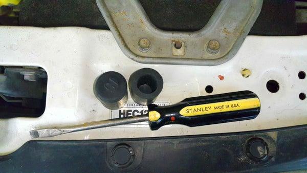 Replacing Rubber Hose Caps in My Car.