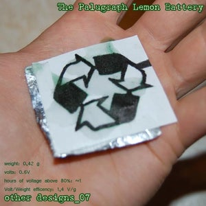 Other Designs_7: the Palugraph Lemon Battery