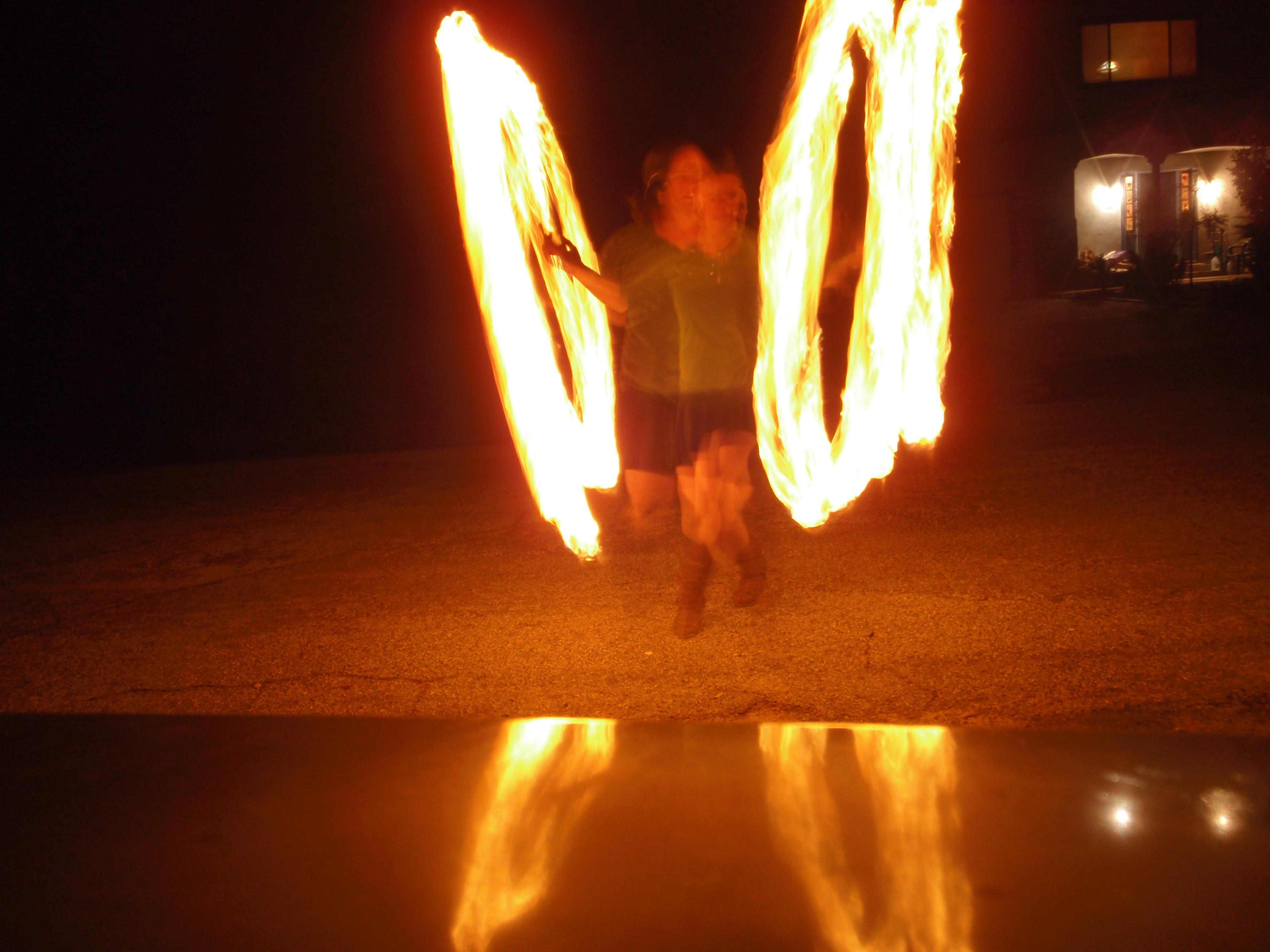 Simple Fire Poi