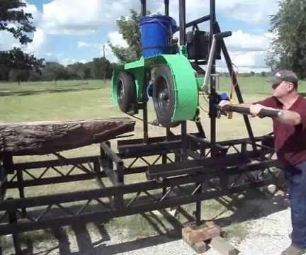 My BIY Band Sawmill & Railbed