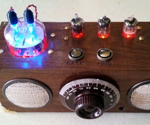 Retro-Modern Bluetooth Stereo Speaker