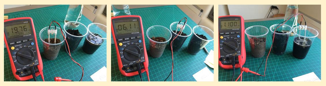 Playing With a Real Soil Moisture Sensor