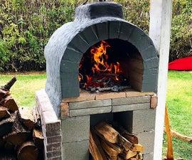 Backyard Woodfire Pizza Oven