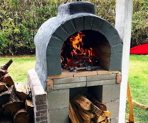 Backyard Woodfire Pizza Oven