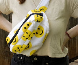 Hand Painted Sling Bag/Fanny Pack