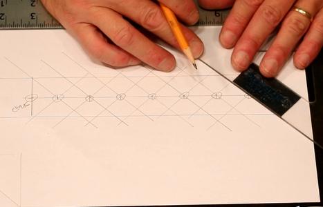 Draw Crosshatch Marks