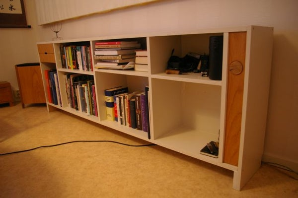 Ikea Hack - Billy Bookcase With Integrated Amplifier