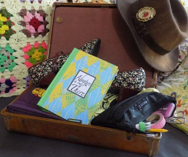 Custom Binder Travel Journal